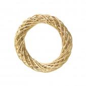 Венок декоративный плетёный из ивовых прутьев очищенных, d=10 см, 2401510, EFCO
