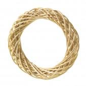 Венок декоративный плетёный из ивовых прутьев очищенных, d=20 см, 2401520, EFCO