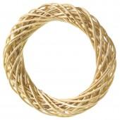 Венок декоративный плетёный из ивовых прутьев очищенных, d=30 см, 2401530, EFCO