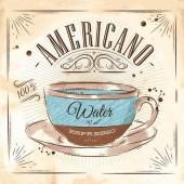 """Салфетка для декупажа """"Кофе Американо"""" бумажная, 33х33 см, на фото 1/4 салфетки, SDOG020601"""