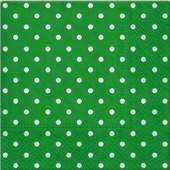"""Салфетка для декупажа """"Горох белый на зелёном"""" бумажная, 33х33 см, на фото 1/4 салфетки, SDL066018"""