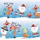 """Салфетка для декупажа """"Весёлое Рождество"""", 33х33 см, на фото 1/4 салфетки, SDGW005801"""