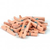 Декоративные Мини-прищепки деревянные, 12 шт., 2,5 см, SCB267311501, ScrapBerry's