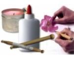 Инструменты и средства для техники Sospeso Trasparente
