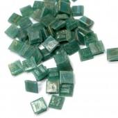 """Мозаичная смальта полупрозрачная Craft Premier GA65 """"Зелёная бирюза"""", 1x1 см, 100 гр."""