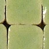 Мозаика керамическая Rayher Mini 409 пастельная зелёная непрозрачная, 5х5х3 мм, около 110 шт., арт. 14495409
