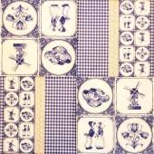 """Салфетка для декупажа """"Голландия"""" бумажная, 33х33 см, на фото целая салфетка, арт. 13306680"""