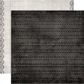 Бумага для скрапбукинга двухсторонняя Authentique IRR004 Engage, 30,5х30,5 см