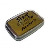 Штемпельная подушечка Stamperia, цвет: золотистый, 7,7х4,7 см, WKP11G