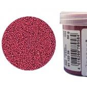 Микробисер металлик EFCO 9112235 стеклянный, цвет ярко-розовый, 0,5 мм, 50 гр.