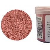 Микробисер металлик EFCO 9112232 стеклянный, цвет старая роза, 0,5 мм, 50 гр.
