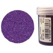Микробисер прозрачный EFCO 9112143 стеклянный, цвет лиловый, 0,5 мм, 50 гр.