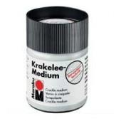 Кракелюрный одношаговый лак Krakelee-Medium, 50 мл, Marabu