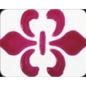 Гель с эффектом стекла Glas-Effekt Gel от Viva Decor, цвет: 401 Пурпурный, 25 мл