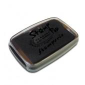 Штемпельная подушечка WKP06G, цвет чёрный, 7,7х4,7 см, Stamperia