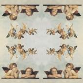 """Рисовая салфетка Stamperia для декупажа DFT011 """"Ангелы Рафаэля"""", 50х50 см, 15 г/м2"""