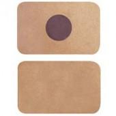 Магнит прямоугольный (заготовка), МДФ, 2 шт, 9х5,5 см, арт. KF173, Stamperia