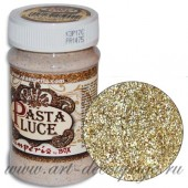 Паста блестящая Pasta Luce с 3D эффектом, K3P17C, с золотыми блёстками, 100 мл, Stamperia