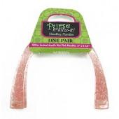 Ручки для сумок BUTTON FASHION, 16х13 см, пластик, розовый, прозрачный, арт. 90-00-20180