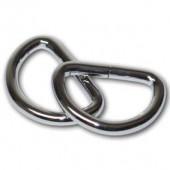 Полукольцо для сумок, 2 шт., металл, 4х3 см, FLSAC03, Stamperia