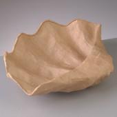"""Заготовка """"Блюдо-раковина"""" из папье-маше, 31х24,5х6,5 см, EFCO, арт. 2631699"""