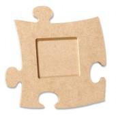 """Рамка-пазл """"Квадрат"""" для фото, 12х12 см, МДФ, PRONTY, арт. 461.251.000"""