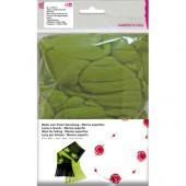 Шерсть супертонкая мериносовая для фелтинга, цвет светло-зелёный, 50 г, арт. 1008561, EFCO