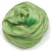 Чесуча (дикий шёлк) для валяния, цвет светло-зелёный, 10 г, арт. 2507545, Knorr prandell