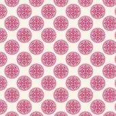 "Ткань Тильда ""Инки, красный"", 50х70 см, 100% хлопок, арт. 0480389, Knorr prandell"