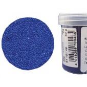 Микробисер прозрачный EFCO 9112148 стеклянный, цвет синий, 0,5 мм, 50 гр.