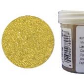 Микробисер прозрачный EFCO 9112109 стеклянный, цвет жёлтый, 0,5 мм, 50 гр.