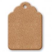 Табличка KF235B, МДФ, 12,5х8,9 см, Stamperia