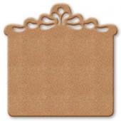 Панно декоративное KF254D для декупажа и росписи, 30х30 см, МДФ, Stamperia