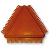 Гребень резиновый для создания рельефа KR94, 10х10 см, Stamperia