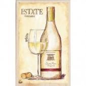 """Штамп-печать резиновый Janlynn 90435 """"Белое вино"""", 14х10 см"""