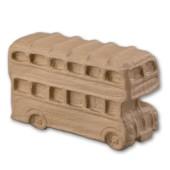 """Заготовка """"Лондонский автобус"""" из папье-маше, 23,5х8,5х14,5 см, арт. 2631923, EFCO"""
