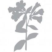 """Трафарет-маска """"Весенний цветок"""", 21х14,8 см, пластик, арт. 470.802.004, PRONTY"""