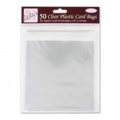 Пакет прозрачный для упаковки открыток ANT1651002, 50 шт., 14,5х14,5 см, DOCRAFTS