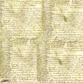 "Рисовая салфетка Stamperia для декупажа DFT105 ""Старые письма"", 50х50 см, 15 г/м2"