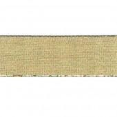 Лента SAFISA металлик золотая, 07 мм, длина 3,5 м, арт. P25197-07мм-101