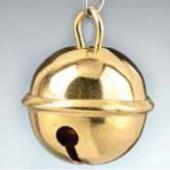 Бубенчики металлические, 9 мм, 10 шт., цвет: латунь, 2215609, EFCO