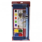 Резак для бумаги и картона с 5-ю сменными насадками KRT10, 40х18х4 см, Stamperia
