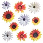 "Плёнка с печатью для техники Sospeso Trasparente ""Подсолнухи"" (Sunflower), 23х23 см, Monica Allegro"