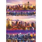 """Декупажная карта Stamperia DFG430 """"Ночной Нью-Йорк"""", 50х70 см, 70 г/м2"""