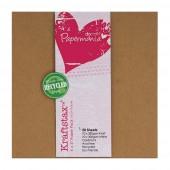 "Набор крафт-бумаги и белого картона для скрапбукинга ""КРАФТ"", 10 шт. + 10 шт., 15,2х15,2 см, арт. PMA160602, DOCRAFTS"