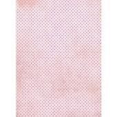 "Рисовая бумага для декупажа Craft Premier CP01549 ""Розовый горох"", 28,2х38,4 см, 25г/м2"