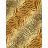 "Бумага для техники DECOPATCH 389 ""Тигр и гепард, микс"", 30x40см"