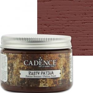Краска-патина Rusty Patina Cadence RP01 коричневая, 150 мл