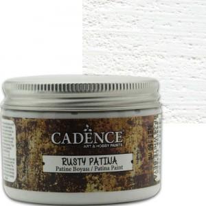 Краска-патина Rusty Patina Cadence RP06 белая, 150 мл