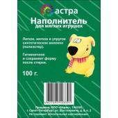 Синтепух - наполнитель для мягких игрушек, арт. 699905, Астра, 100 гр.